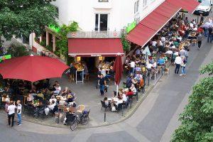 Filos Restaurant Köln - Außengastronomie